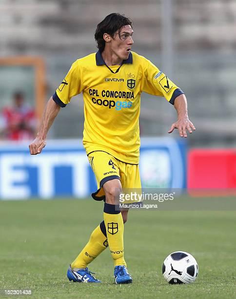 Riccardo Nardini of Modena during the Serie B match between Reggina Calcio and FC Modena at Stadio Oreste Granillo on September 15 2012 in Reggio...