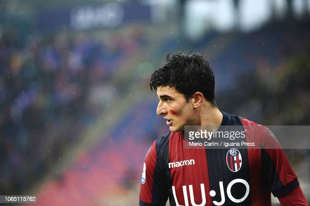 Riccardo Orsolini of Bologna FC looks on during the Serie A match between Bologna FC and ACF Fiorentina at Stadio Renato Dall'Ara on November 25 2018...