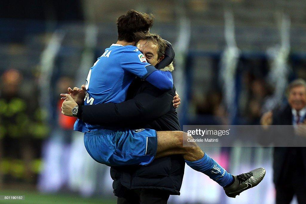 Empoli FC v Carpi FC - Serie A : ニュース写真