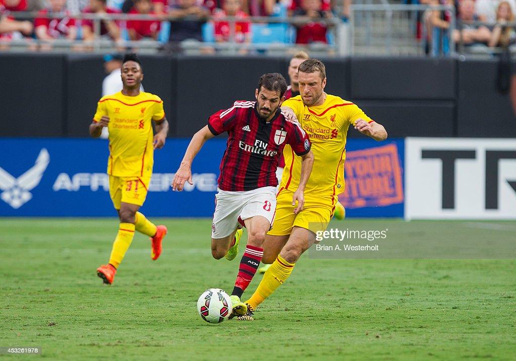 International Champions Cup 2014 - Liverpool v AC Milan : News Photo
