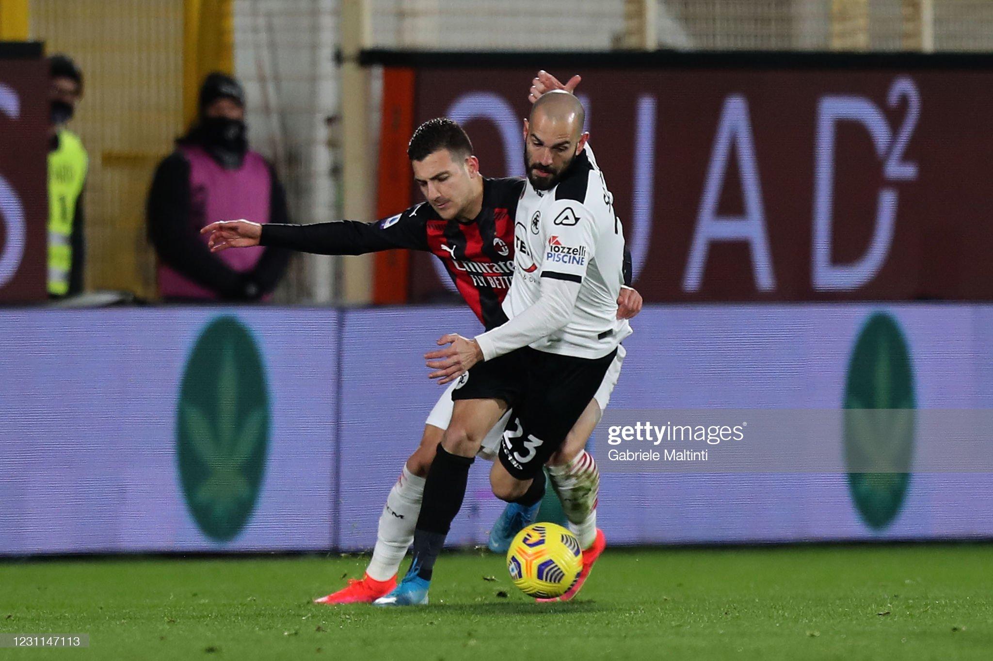 Spezia Calcio v AC Milan - Serie A : News Photo