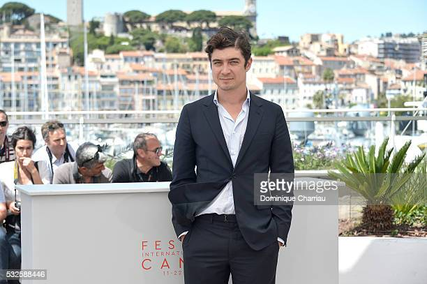 Riccardo Scamarcio attends the Percile Il Nero Photocall during the 69th annual Cannes Film Festival at the Palais des Festivals on May 19 2016 in...