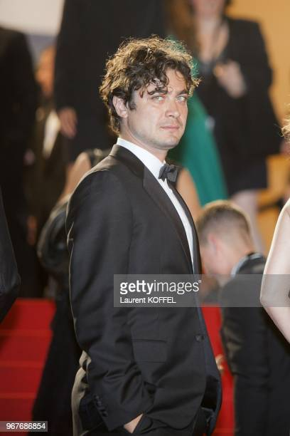 Riccardo Scamarcio attends the Premiere of 'Miele' during The 66th Annual Cannes Film Festival at Palais des Festivals on May 17 2013 in Cannes France