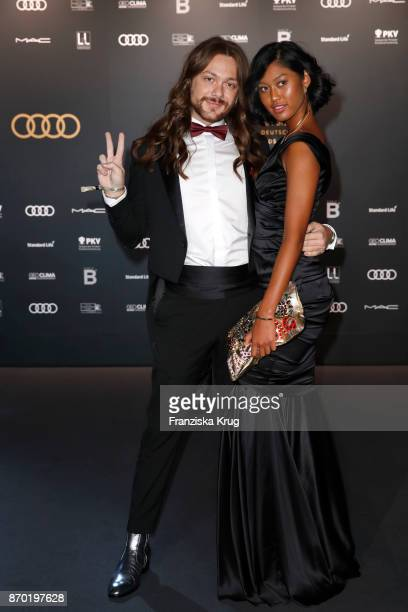 Riccardo Simonetti and Anuthida Ploypetch attend the 24th Opera Gala at Deutsche Oper Berlin on November 4 2017 in Berlin Germany