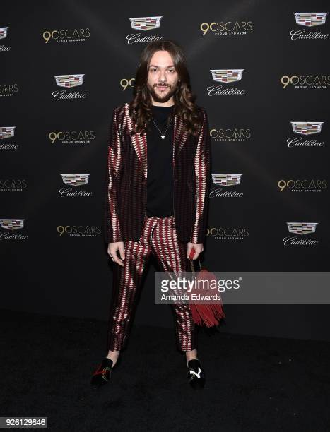 Riccardo Simonetti arrives at the Cadillac Oscar Week Celebration at Chateau Marmont on March 1 2018 in Los Angeles California