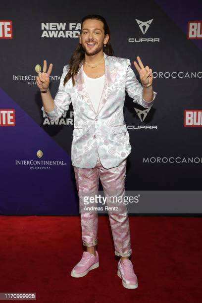 Riccardo Simonetti attends the Bunte New Faces Award Music on August 29 2019 in Dusseldorf Germany
