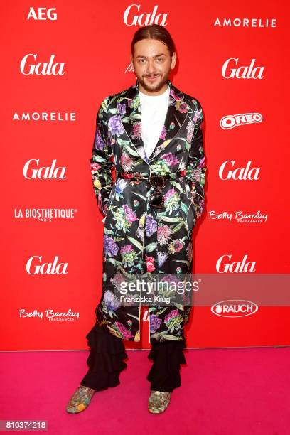 Riccardo Simonetti attends the Gala Fashion Brunch during the MercedesBenz Fashion Week Berlin Spring/Summer 2018 at Ellington Hotel on July 7 2017...