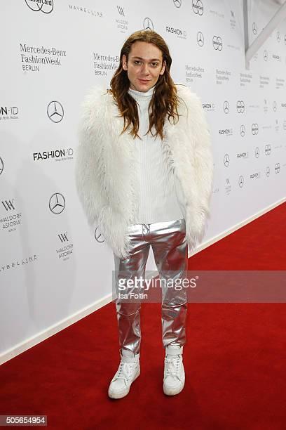Riccardo Simonetti attends the Lena Hoschek during Mercedes-Benz Fashion Week Berlin Autumn/Winter 2016 on January 19, 2016 in Berlin, Germany.