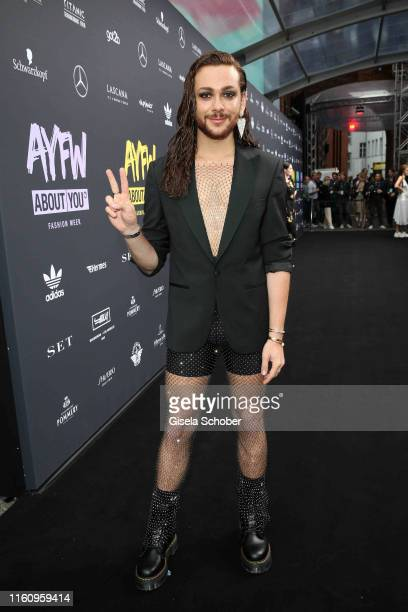 Riccardo Simonetti attends the opening show of the AYFW About You Fashion Week at ewerk on July 05 2019 in Berlin Germany