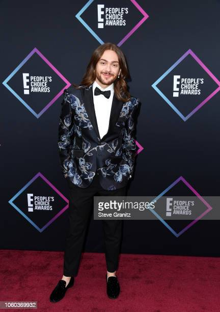 Riccardo Simonetti attends the People's Choice Awards 2018 at Barker Hangar on November 11 2018 in Santa Monica California