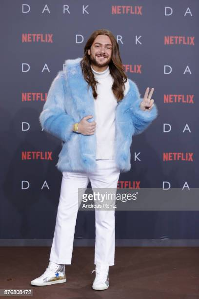 Riccardo Simonetti attends the premiere of the first German Netflix series 'Dark' at Zoo Palast on November 20 2017 in Berlin Germany