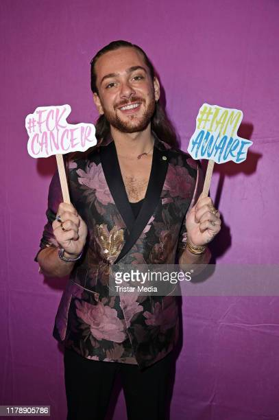Riccardo Simonetti attends the Sloggi x DKMS #IAMAWARE Event at Woodboom on October 29 2019 in Berlin Germany