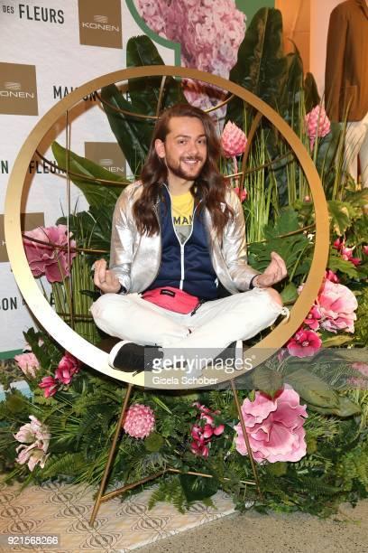 Riccardo Simonetti during the 'Maison des Fleurs' photo session at KONEN on February 20 2018 in Munich Germany