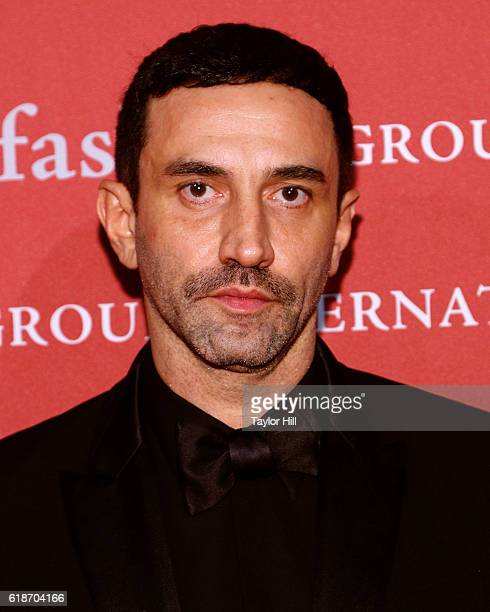 Riccardo Tisci attends Fashion Group International's 2016 Night of Stars at Cipriani Wall Street on October 27 2016 in New York City