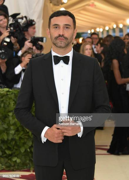 Riccardo Tisci attends the Heavenly Bodies: Fashion & The Catholic Imagination Costume Institute Gala at The Metropolitan Museum of Art on May 7,...