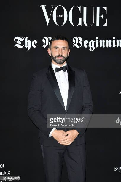 Riccardo Tisci attends the Vogue Italia 'The New Beginning' Party during Milan Fashion Week Spring/Summer 2018 on September 22 2017 in Milan Italy