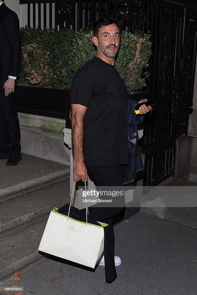 Celebrity Sightings In New York City - September 14, 2015
