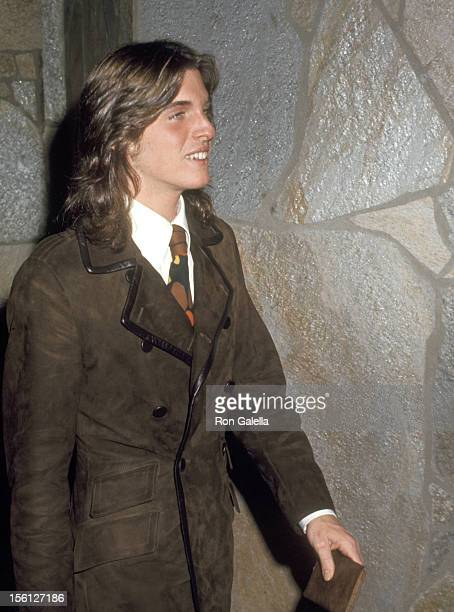 Ricci Martin attends the Wedding of Dean Paul Martin and Olivia Hussey on April 17 1971 in Las Vegas Nevada