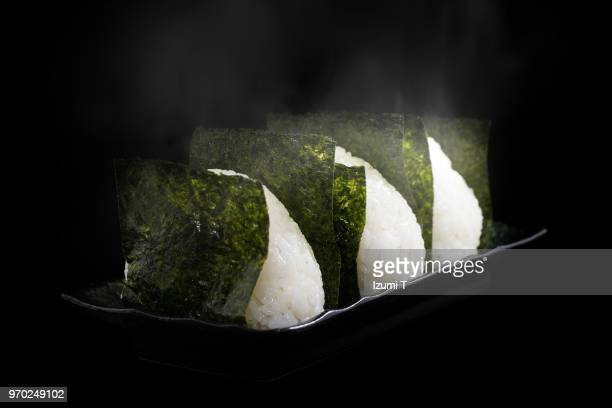 rice ball - rice ball stock pictures, royalty-free photos & images