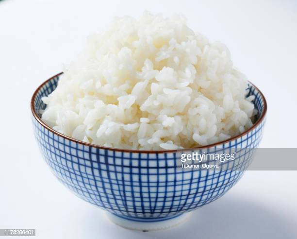 rice , cooked rice steamed rice on bowl - 食事 ストックフォトと画像