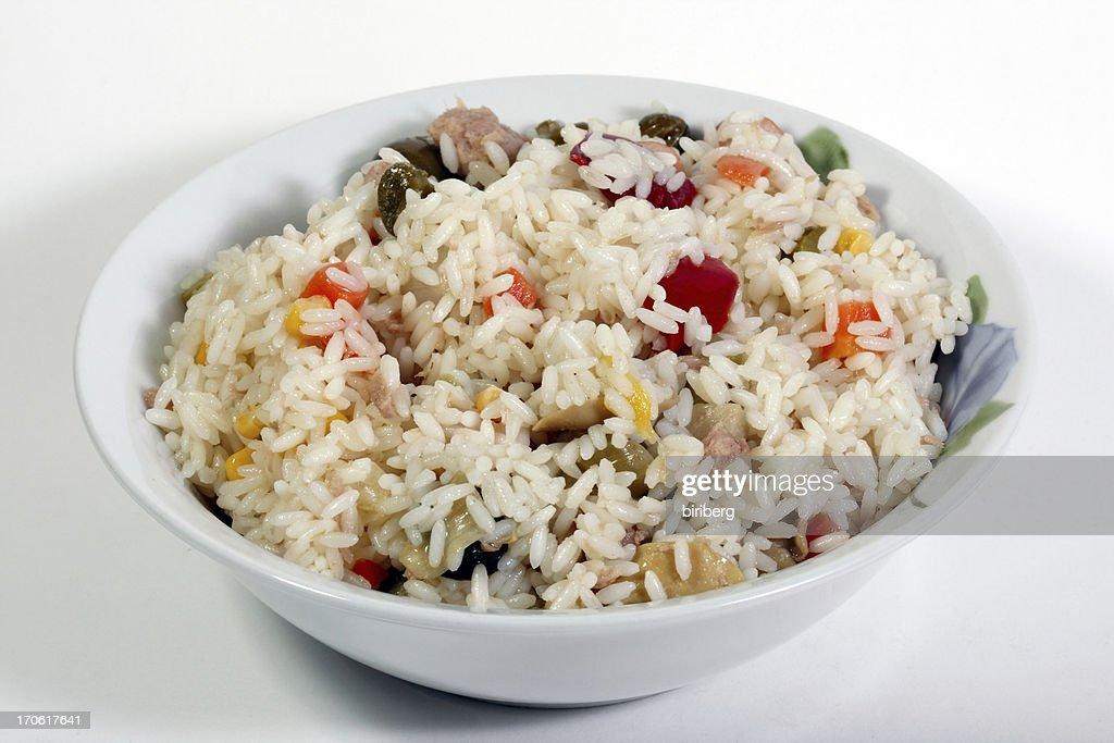 Rice salad : Stock Photo