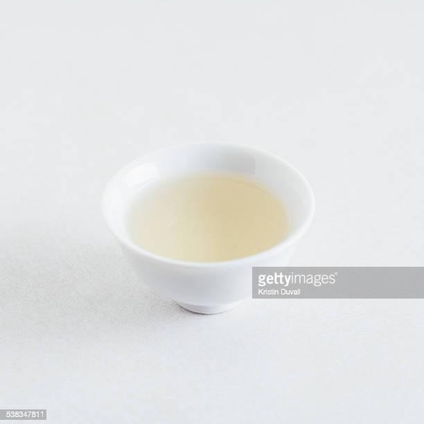 Rice vinegar in bowl