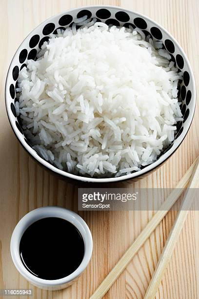 Rice with soy sauce