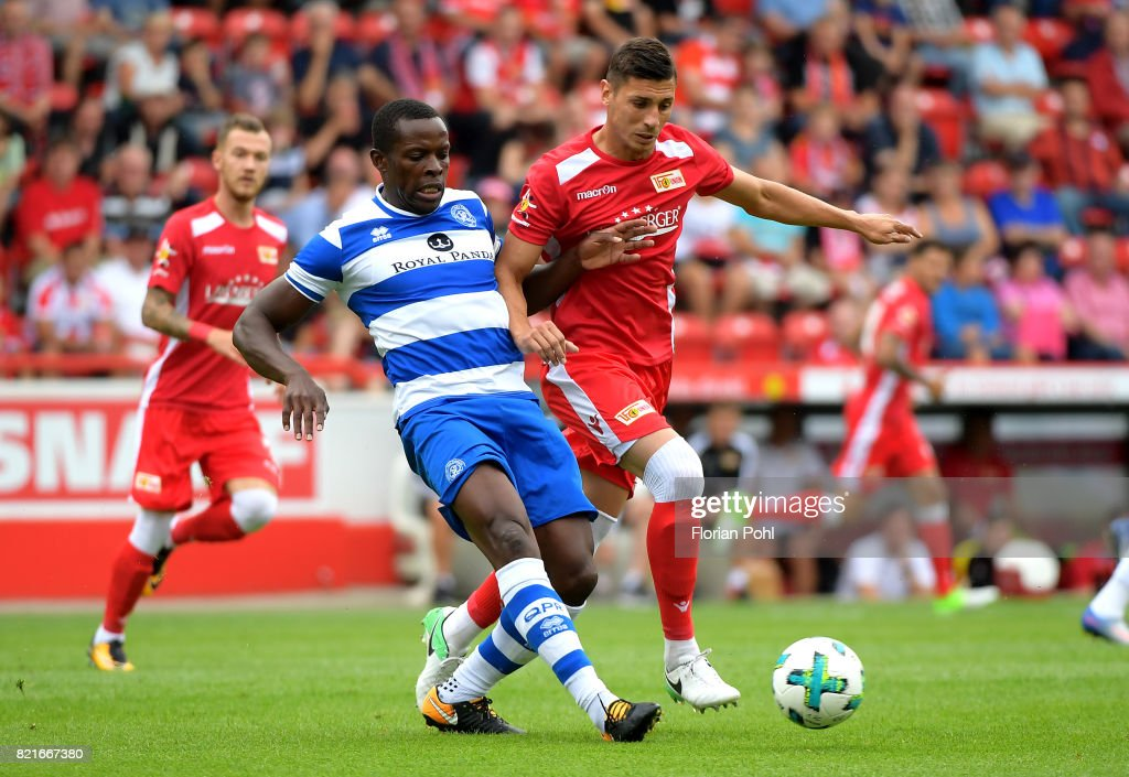 Damir Kreilach of 1 FC Union Berlin during the game between Union Berlin and the Queens Park Rangers on july 24, 2017 in Berlin, Germany.