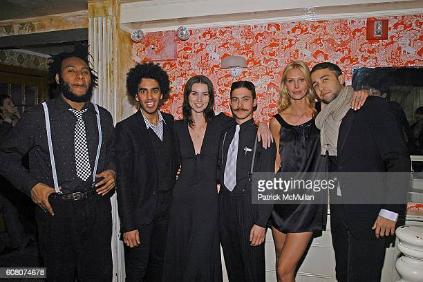 Rich Aybar Annie Henley Nina Warthen and Alexander Jones attend A Private Dinner to Celebrate LES PERLES DE CHANEL Hosted by Marjorie Gubelmann Raein...