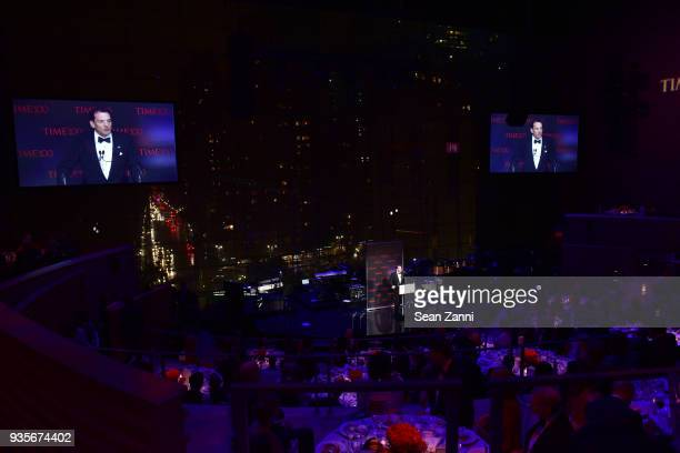 Rich Battista speaks at the 2017 TIME 100 Gala at Jazz at Lincoln Center on April 25 2017 in New York City