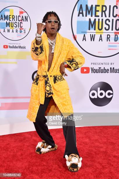 Rich Boy attends the 2018 American Music Awards at Microsoft Theater on October 9 2018 in Los Angeles California