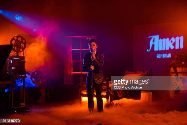 Rich Brian performs during The Late Late Show with James Corden Thursday February 1 2018 On The CBS Television Network
