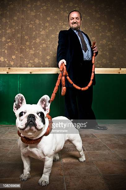 rich businessman - ugly dog stock pictures, royalty-free photos & images