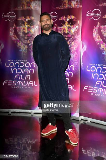 """Rich Cline attends """"My Beautiful Laundrette"""" screening during London Indian Film Festival 2021 at BFI Southbank on June 18, 2021 in London, England."""