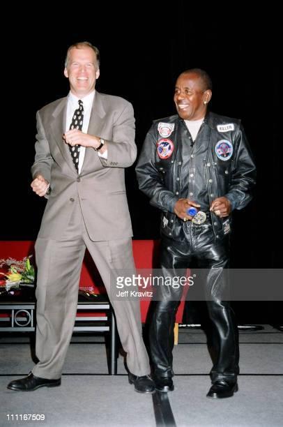 Rich Cronin and Flip Wilson during MTV TCA 1997 at Ritz Carlton in Pasadena California