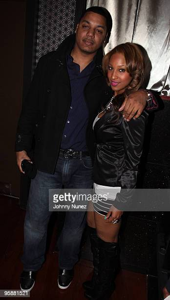 Rich Dollar and Olivia attend Strength Through Unity A Haitian Benefit Relief at Crimson on January 18 2010 in New York City