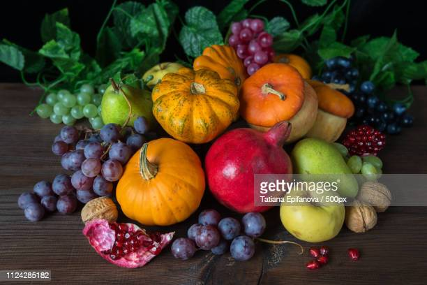 rich harvest - harvest table stock pictures, royalty-free photos & images