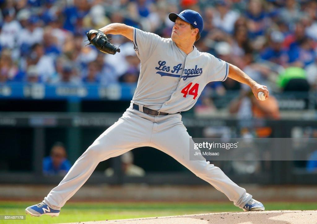 Los Angeles Dodgers v New York Mets : News Photo
