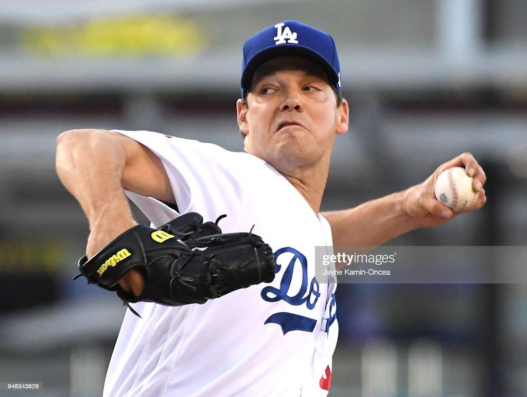 Arizona Diamondbacks  v Los Angeles Dodgers : News Photo