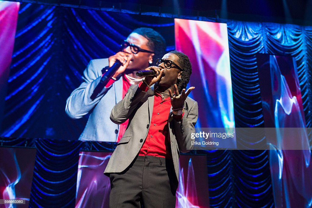 Rich Homie Quan performs at the 2016 BMI R&B/Hip-Hop Awards at Woodruff Arts Center on September 1, 2016 in Atlanta, Georgia.