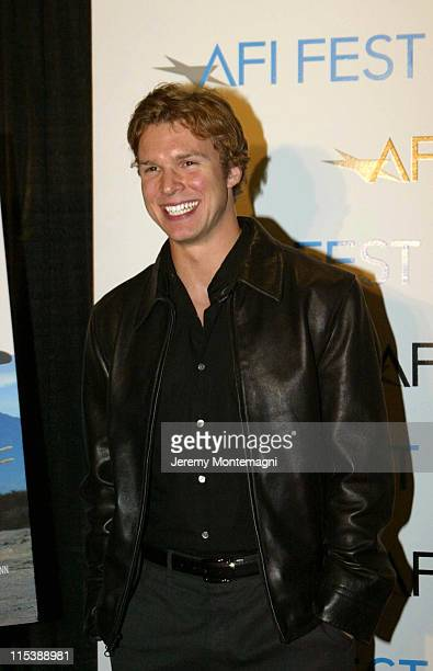 Rich Montague during AFI Film Festival Screening of James Redford's Directorial Debut Spin at Arclight Cinema in Holllywood California United States