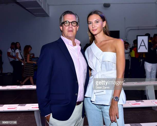 Rich Murray and Hope Murray attend the Todd Snyder S/S 2019 Collection during NYFW Men's July 2018 at Industria Studios on July 11 2018 in New York...