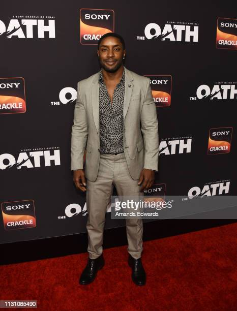 Rich Paul arrives at Sony Crackle's 'The Oath' Season 2 exclusive screening event at Paloma on February 20 2019 in Los Angeles California