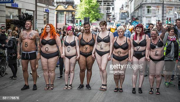 'Rich' people promoting Bodylove in the Copenhagen Whitsun Carnival 2016,
