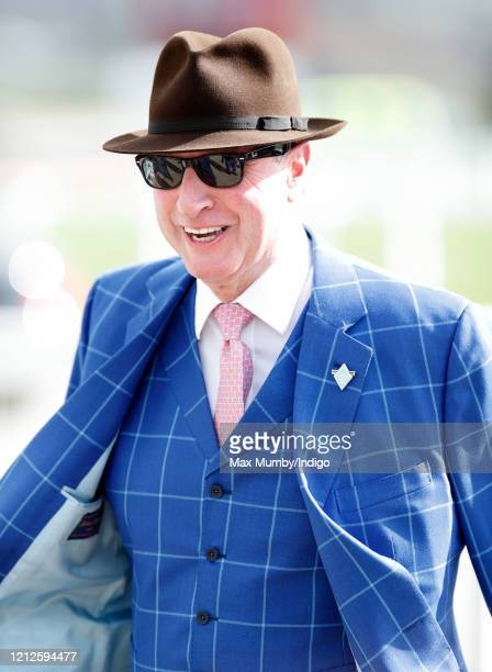 Rich Ricci attends day 4 'Gold Cup Day' of the Cheltenham Festival 2020 at Cheltenham Racecourse on March 13 2020 in Cheltenham England