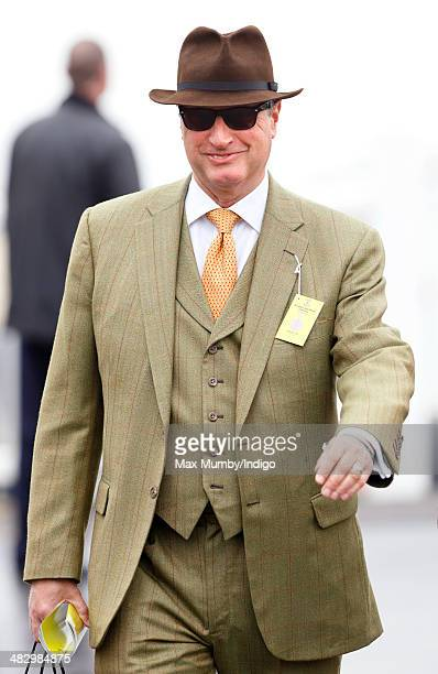 Rich Ricci attends the Crabbie's Grand National horse racing meet at Aintree Racecourse on April 5 2014 in Liverpool England
