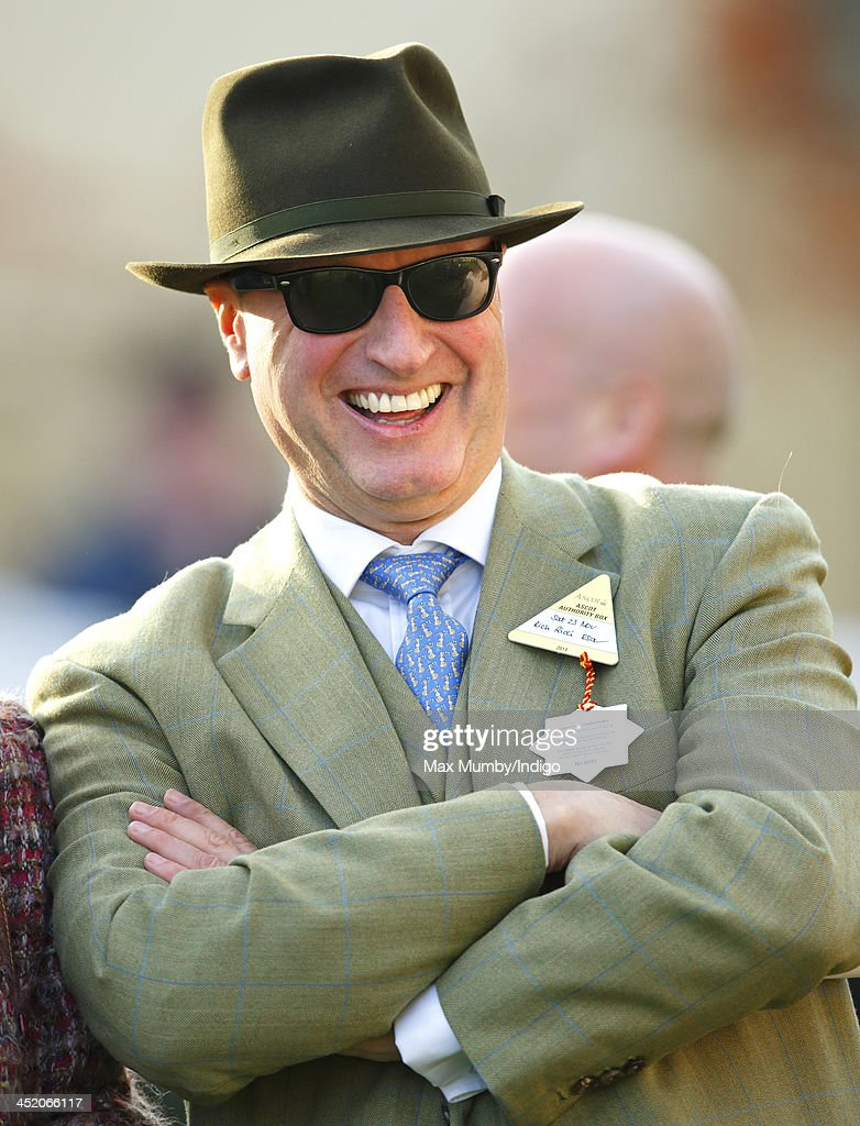Rich Ricci attends the November Meeting at Ascot Racecourse to watch wife Susannah Ricci's horse Annie Power run in the Coral Hurdle Race on November 23, 2013 in Ascot, England.