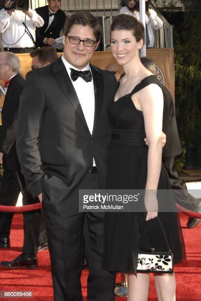 Rich Sommer and Virginia Donohoe Sommer attend The 15th Annual Screen Actors Guild Awards at Shrine Auditorium on January 25 2009 in Los Angeles...