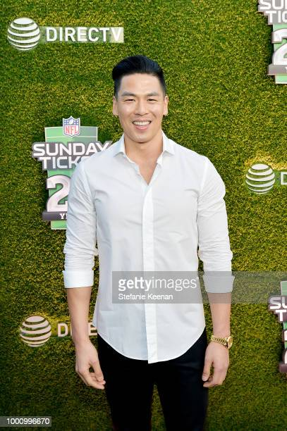 Rich Ting attends DIRECTV CELEBRATES 25th Season of NFL SUNDAY TICKET at Nomad Hotel Los Angeles on July 17 2018 in Los Angeles California