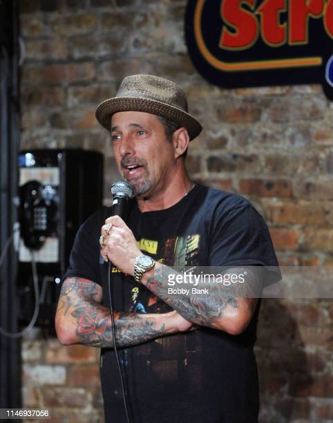 Rich Vos performs at the Otto & George Memorial Show, in honor of ventriloquist Otto Sol Petersen, at The Stress Factory Comedy Club on May 29, 2019...